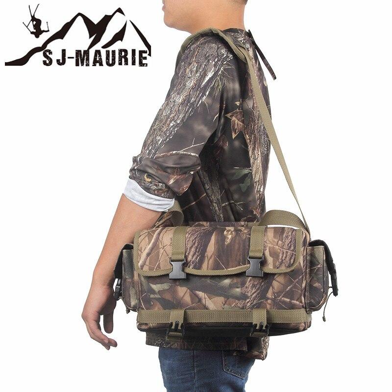 Sj-maurie extérieur hommes militaire tactique sac armée tactique sac à dos Molle Camouflage sac de chasse randonnée Camping Portable sac - 5