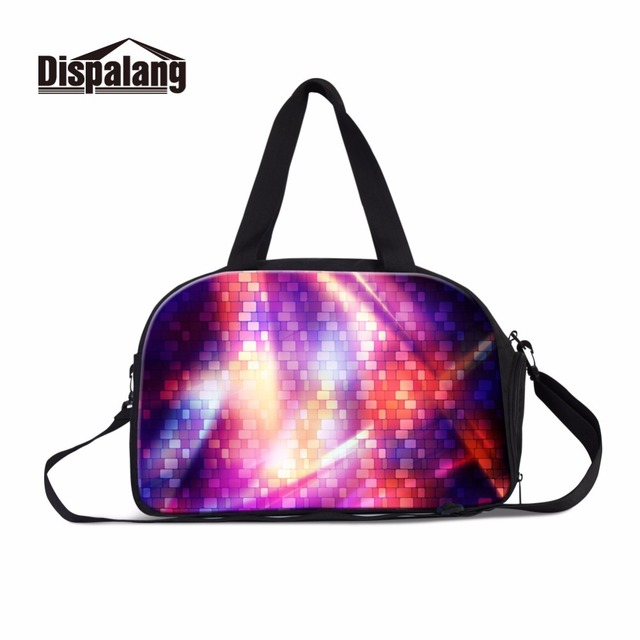 Dispalang fancy plaid ladies duffle tote bag for traveling college students luggage  overnight bag handbag weekend 65f204e0882ce