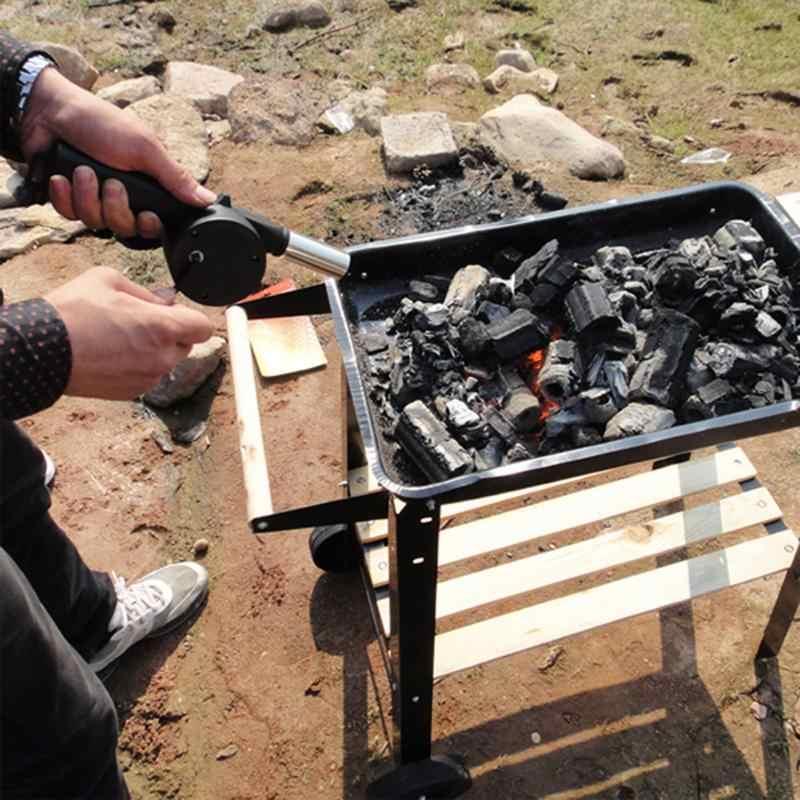Наружная ручная воздуходувка для барбекю кухонный вентилятор воздуходувки S для Гриль для пикника Кемпинг ручной Кривошип питание воздуходувки ручной Barbec