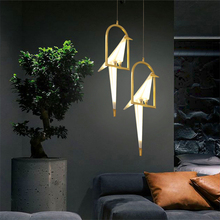 Modern Bird LED Pendant Light Lighting LOFT Bar Cafe Personality Deco Nordic Lamp Hanging Kitchen Fixtures