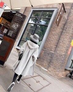 Image 3 - ฤดูใบไม้ร่วงฤดูหนาวหมวกสำหรับหมวกผู้หญิงหมวกกว้าง brim felt trilby retro แสดงขนาดเล็ก face หมวก