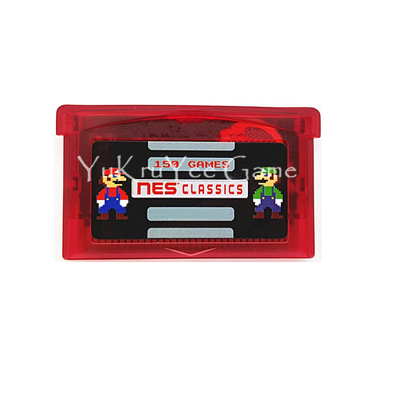 Super 150 in 1 NES Spiel Zusammenstellungen Video Spiel Patrone Konsole Karte für 32 Bit Handheld Konsole Englisch Version
