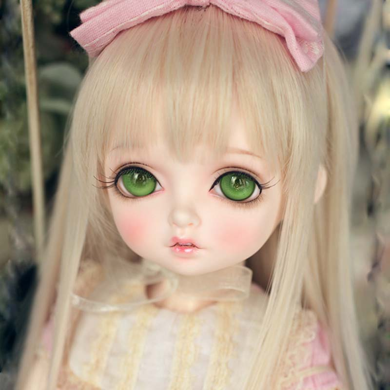 New Arrival 1/4 BJD Doll BJD/SD Lovely Bambis Resin Doll With Free Eyes For Baby Girl Gift pink wool coat doll clothes with belt for 18 american girl doll