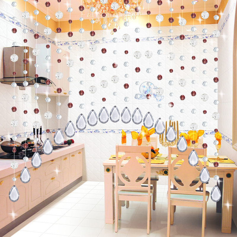 Buy 20 meter 11 color party home for Crystal decorations for home