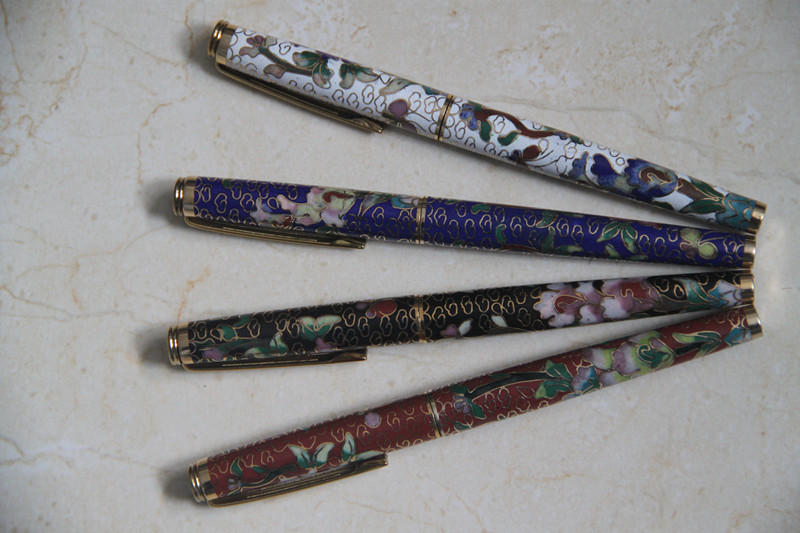 Harbin youlian cloisonne 12k gold fountain pen quality goods in stock 1980's antique pen out of print collection! стоимость