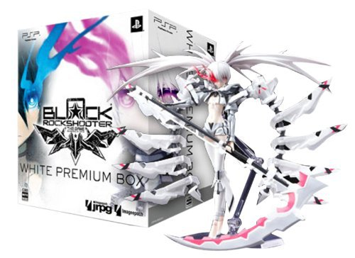 ФОТО New Arrival Black Rock Shooter The Game White Premium Box Figma SP-033 SP 033 WRS 16CM Action Figure Toys