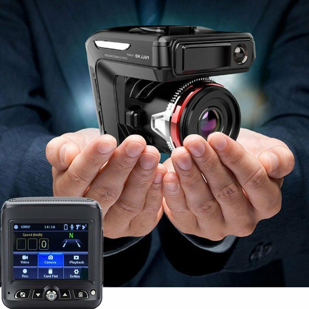 Car DVR Camera Radar-Laser-Speed-Detector Recorder Dash-Cam Map 1080P HD 2-In-1