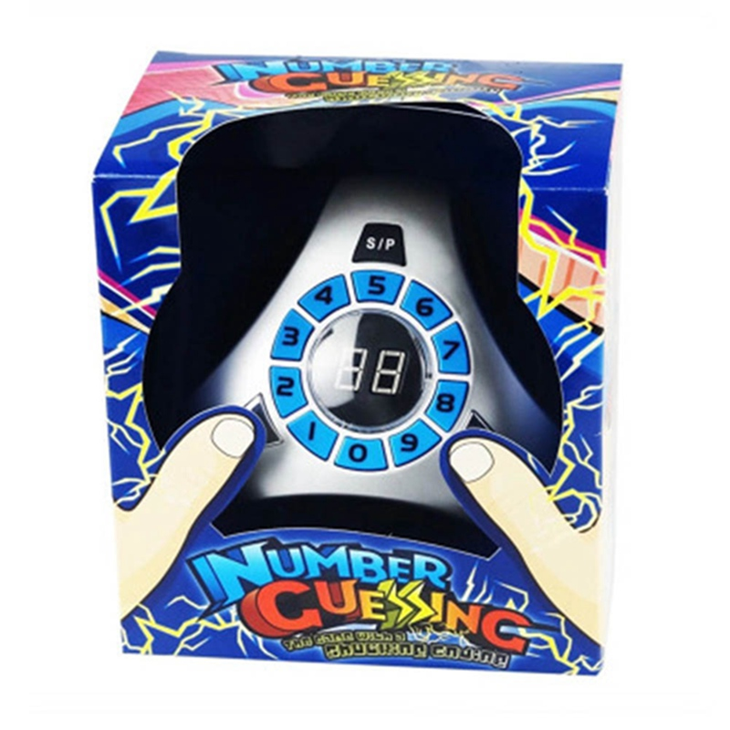 1 шт Забавный электрическим током 1 до 99 Шокирующая количество игрушка игрока угадайку шокирующим финалом подарок на день рождения вечерние...