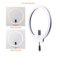 YONGNUO YN608 3200K~5500K Bi Color Temperature Wireless Remote Photo LED Ring Lamp Video Light Adjustable Brightness With Remote