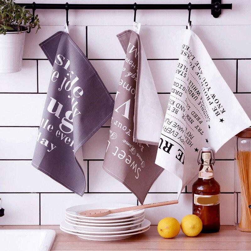 Urijk Cotton Napkins Placemat Heat Insulation Mat Dining Table Mat Nordic Fabric Table Napkin Wedding Decoration Tea Towel