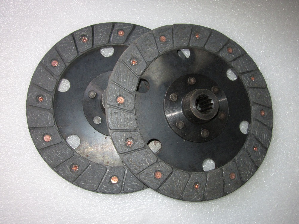 JINMA 184 202 224 tractor parts, the set of clutch discs, main clutch disc 184.21S.014 , PTO clutch disc 184.21S.011 цена