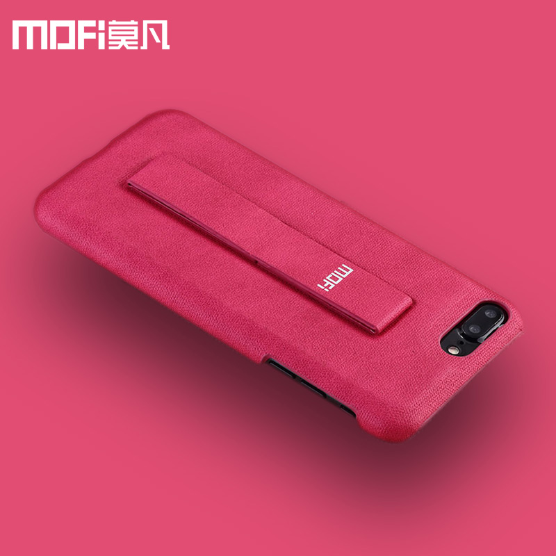 imágenes para MOFi para el iphone 7 más caso de lujo para las mujeres para el iphone 7 caso de cuero de fondo para los hombres soporte soporte original de la marca de la vendimia cubierta