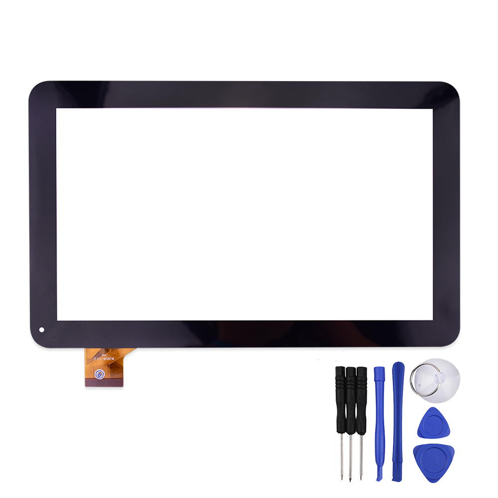 10.1 inch Touch Screen WJ608-V1.0 for  M121  M121G 3G Glass Panel Digitizer Replacement with Repair Tools WJ608 high quality 9 inch black touch screen dh 0926a1 pg fpc080 v3 0 glass panel sensor replacement with repair tools