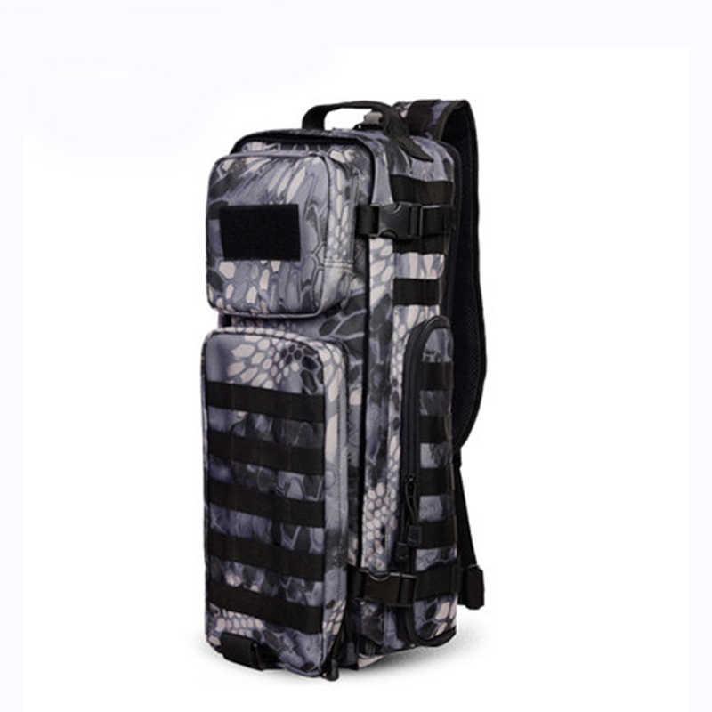 الرجال الصدر حقيبة ظهر ذات حمالة الرجال أكياس واحد الكتف رجل كبير السفر العسكرية الظهر رخوة في الهواء الطلق الظهر