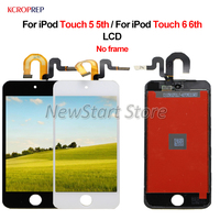 4.0 For iPod Touch 5 5th LCD For iPod Touch 6 6th LCD Display Touch Screen Digitizer Assembly Replacement Accessory 100% Tested