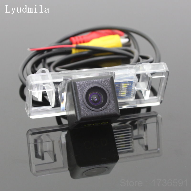 Car Intelligent Parking Tracks Camera FOR Buick Verano 2015~2016 / HD Back up Reverse Camera / Rear View Camera