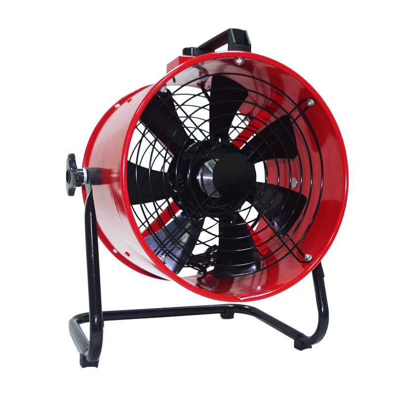 10 Inch Blower Portable Axial Exhaust Fan Standing Extractor High Speed Air Ventilator Stepless Regulation 250mm 220V