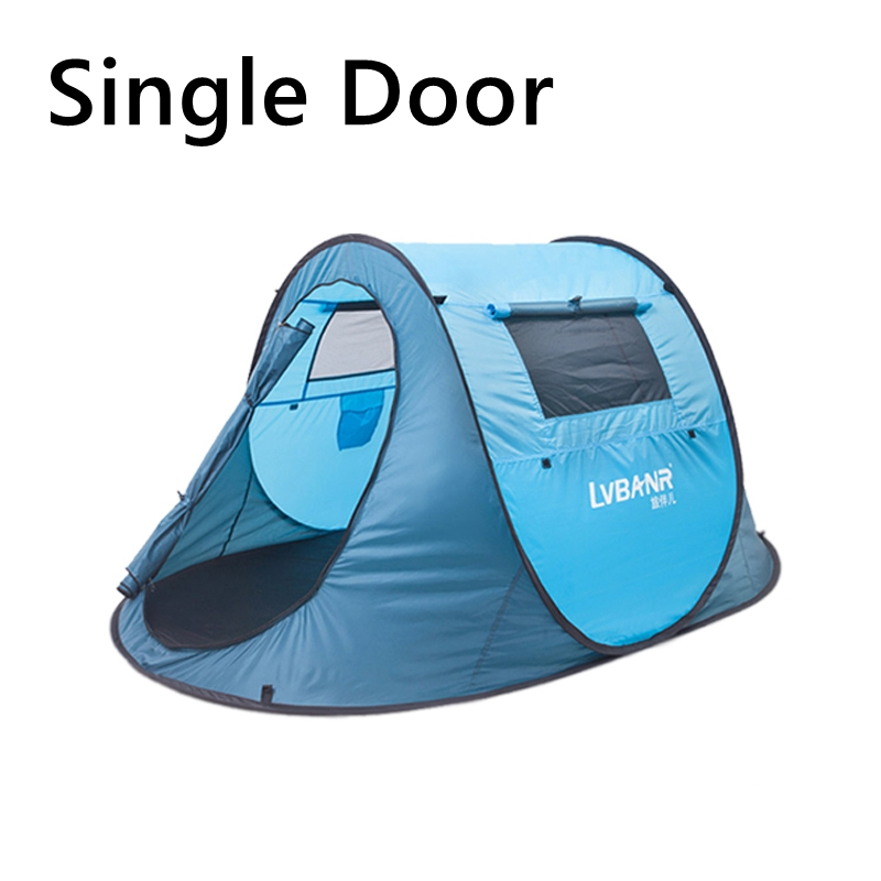 ФОТО 1.8KG Outdoor  Waterproof 2 Person 3 Season Single door High-quality Camping tent for Hiking Fishing Hunting adventure provexyz
