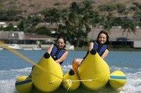 Водный или морской парк игры, надувная лодка банан двойной 12 мест