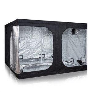 Image 4 - Indoor Hydrocultuur Groeien Tent Voor Led Grow Light, Groeien Kamer Box Plantaardige, reflecterende Mylar Niet Giftig Tuin Kassen