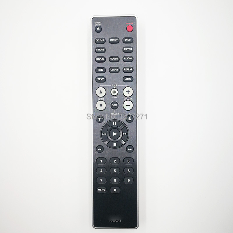 original remote control RC004SA for Marantz  CD5005 CD6006 CD6005 CD5004 CD6004 CD7003 CD player cd проигрыватель marantz cd5005 black