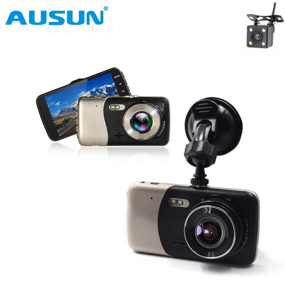 4 0 дюймов Full HD 1080p ips Экран Видеорегистраторы для автомобилей Новатэк