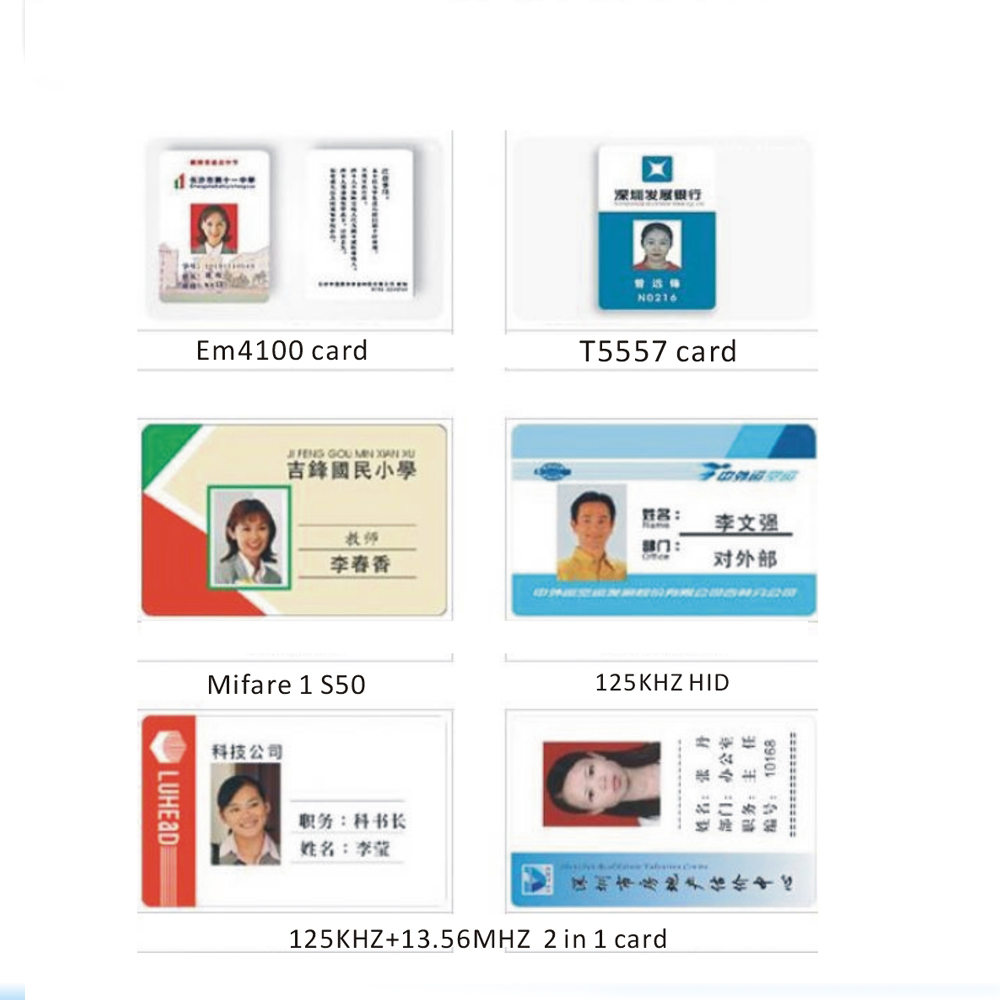 Free Shipping Printing 10pcs 13.56MHZ  IC Card Work Permit, Photo Cards, Standard Credit Card Size (85X54X0.8mm) Card Sets