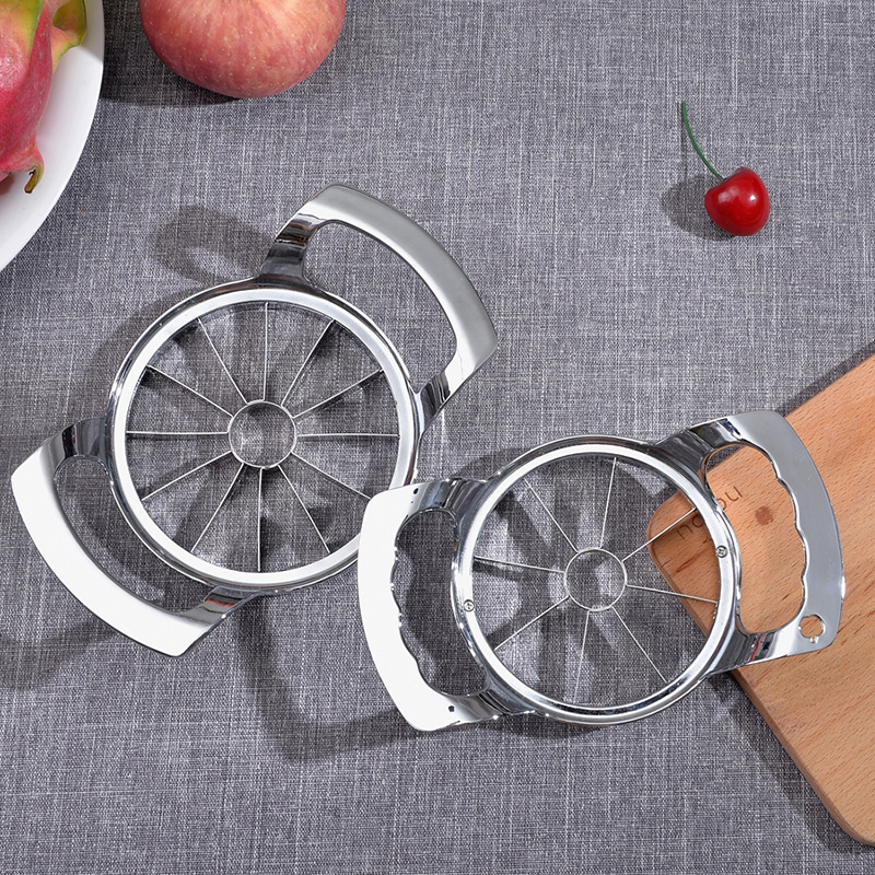 Apple Shredders Slicers Household Tool Cut Fruit Multi-Function Stainless Steel Shredders Slicers Cut Apple Device Orange