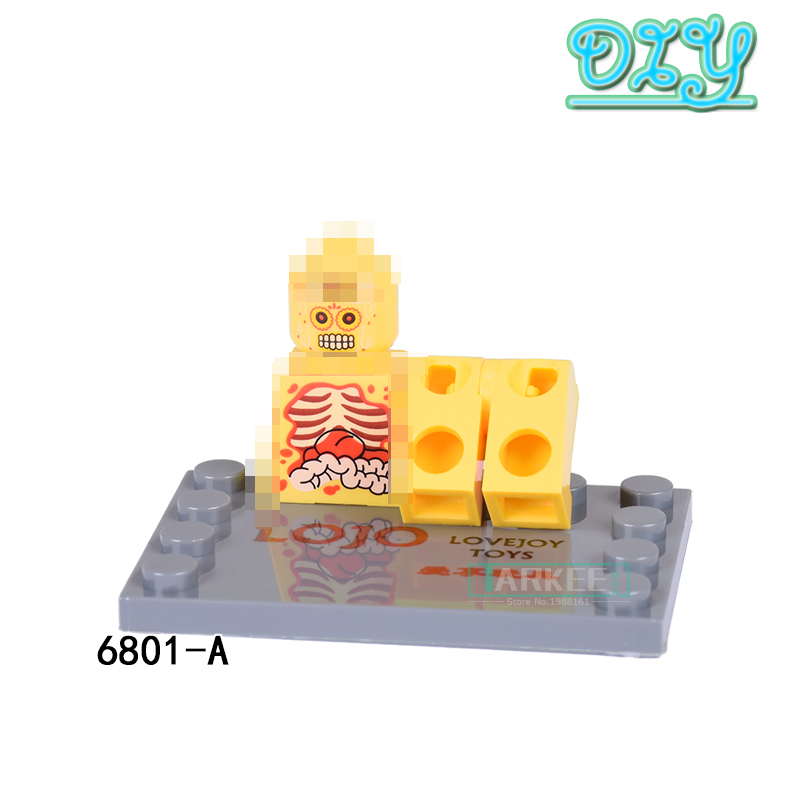 Building Blocks Figures Anatomy Dissection Super Heroes Action ...
