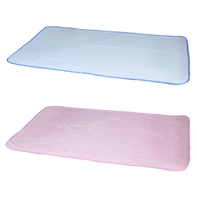 1 Pc Baby Changing Mat  Bamboo Pulp Fiber Mattress Breathable Waterproof  Pad Solid Color Soft Changing Pads 40*50cm