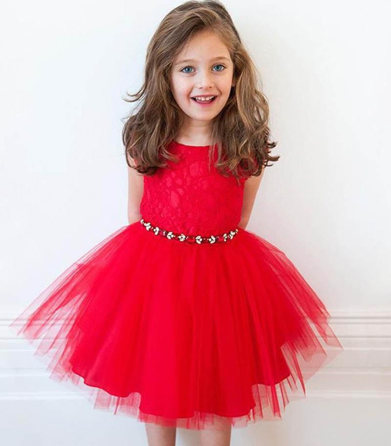 Baby Girl Dress 2015 Summer Short sleeve lace Diamond ...