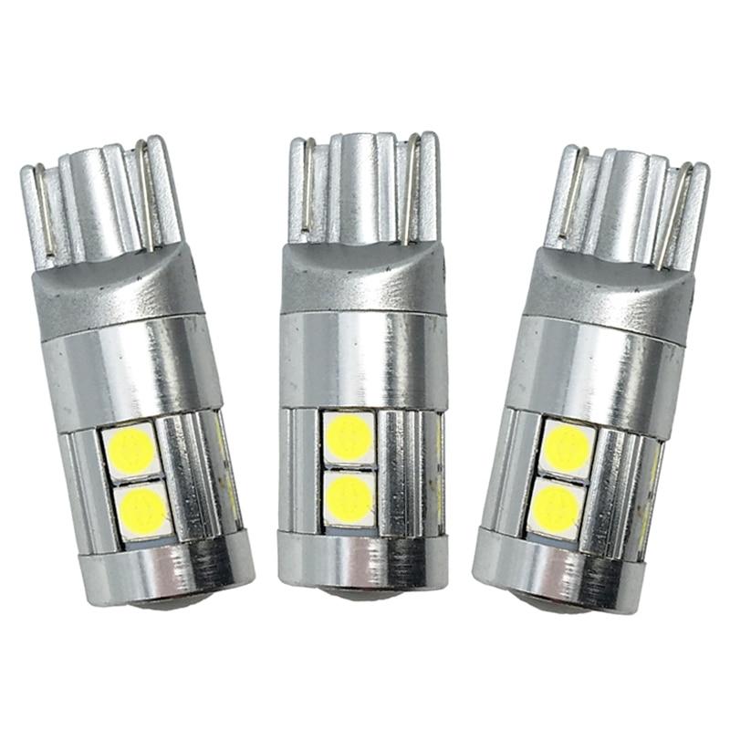 10x T10 3030 9 SMD 9 LED 12V 24V avtomatik paz lampa ampul avtomobil - Avtomobil işıqları - Fotoqrafiya 1