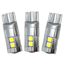 10x T10 3030 9 SMD 9 LED 12 V 24 V auto ampoule à coin voiture plaque d'immatriculation LED lecture marqueur phare lampe w5w 194 501