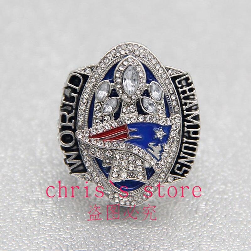 Prix pour Drop Ship 2016-2017 New England Patriots Super Bowl LI Officiel Du Championnat Anneaux Pour MVP Tom Brady