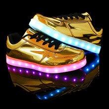 Led lumière chaussures homme 2017 de mode coloré hommes led chaussures pour adultes hommes chaussures casual