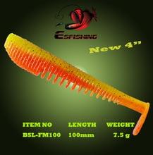 Esfishing FLK MINNOW  6pcs 10cm/7.5gFishing Lure Soft Baits Leurre souple Shad Carp Fishing Iscas Artificial