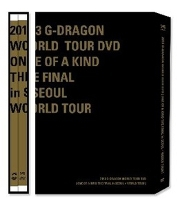 2013 G-DRAGON WORLD TOUR - ONE OF A KIND THE FINAL IN SEOUL + WORLD TOUR [ + Booklet + 3 photocards] Release date 2014-2-12 KPOP the one in a million boy