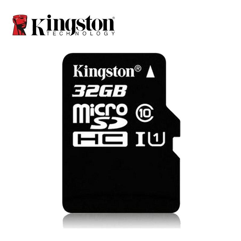 Kingston Micro SD Card 16GB 32GB 64GB 128GB 256GB Memory Card Class 10 SDHC UHS-I U1 80MB/s C10 TF Card 8G C4 For Smartphones