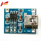 TP4056 5V 1A MINI USB 18650 Lithium Battery Charging Board Charger Module+Protection Dual Functions