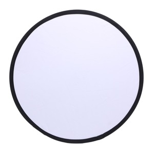 Image 5 - Silver/White 2 in 1 60cm Portable Round Light Mulit Collapsible Disc Photography Reflector For Studio With Carrying Bag