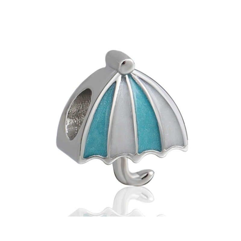 Minimalistyczny styl europejski kryształowe kwiaty wszechświat mapie emalia Charms koraliki Fit Pandora bransoletki dla kobiet Night Club DIY biżuteria