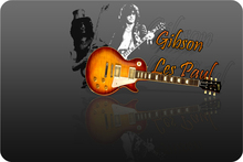 Custom Gibson Les Paul Guitarras puerta Esterillas decoración dormitorio Gibson Guitarras Cojines Funny alfombras Esterillas baño Navidad Roma Alfombras # d-044 #
