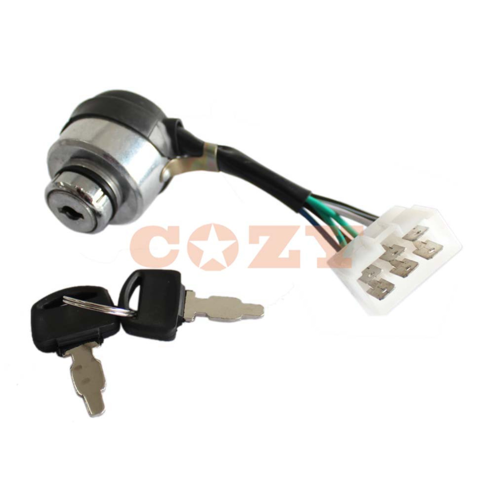 Chinese Portable Gasoline Generator 6 Wire Ignition Key Combination ...
