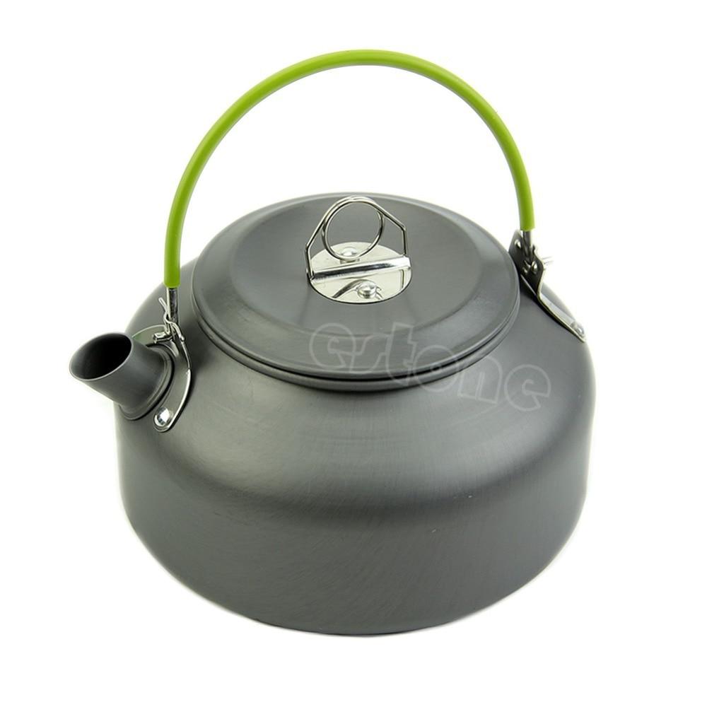 08L Ultra light Camping Überleben Wasserkocher Teekanne