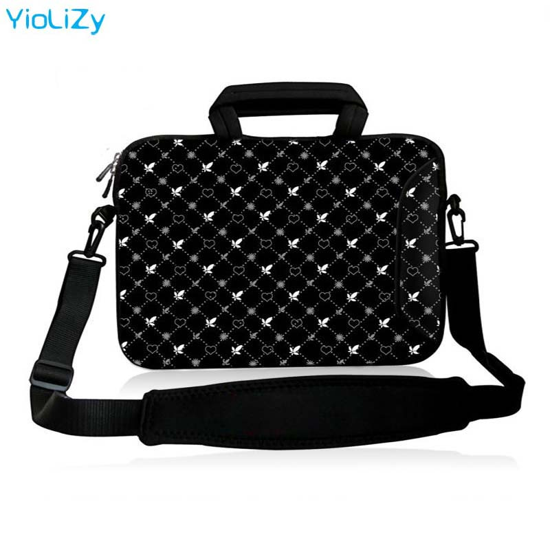 shockproof 17 inch laptop bag 10 1 12 13 3 14 1 17 3 computer shoulder case 15 6 Notebook Messenger sleeve cover handbag SB 3392 in Laptop Bags Cases from Computer Office