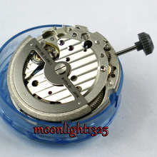 Parnis miyota 821A Mechanical date window fit movement