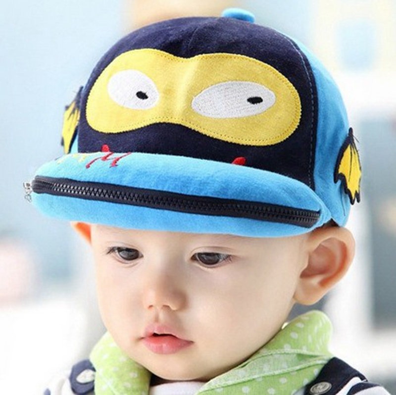 71a19ed2943 New Fashion Newborn Baby Boy Hats Cotton Baby Batman Cap Cute Cartoon  Dinosaur Design Baseball Caps Hippo Hats For Children-in Hats   Caps from  Mother ...