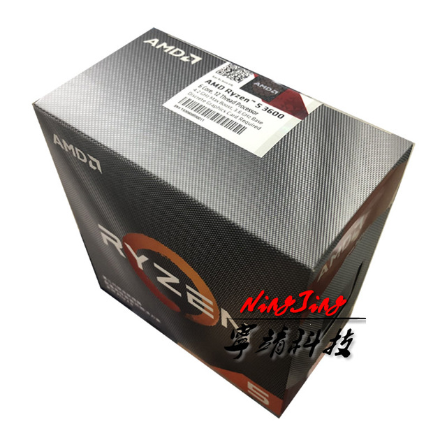Processore CPU AMD Ryzen 5 3600 R5 3600 3.6 GHz a sei Core a dodici Thread 7NM 65W L3 = 32M 100 000000031 Socket AM4 nuovo e con ventola