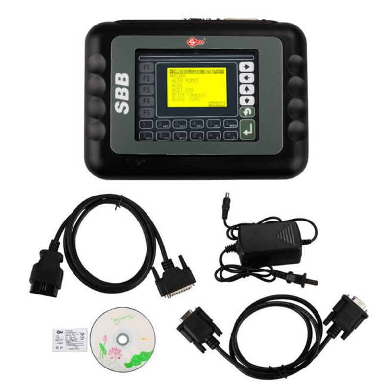 New Auto Key Programmer V33 02 SBB Key Programmer For Multi Brands Brazil SBB Silca V33