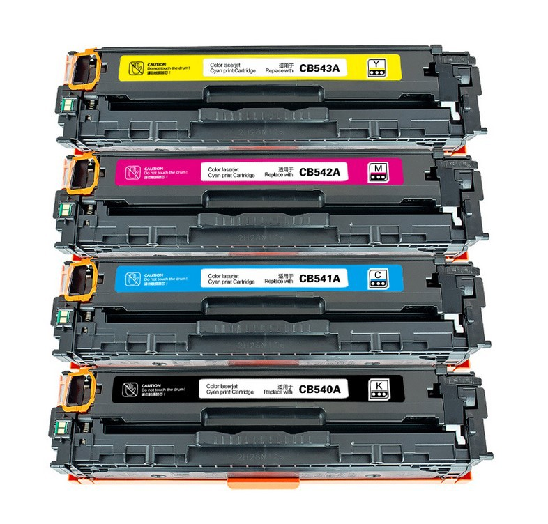 compatible cb540a cb541a cb542a cb543a toner cartridge for hp color laserjet cp1215cp1515ncp1518ni - Hp Color Laserjet Cm1312nfi Mfp